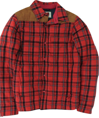 Aspesi - Cotton/Wool Insulated Flannel Shirt Jacket - PEURIST