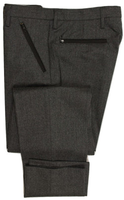 Equipage - Gray Double-Faced Wool/Nylon Bike Pants - PEURIST