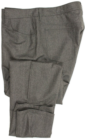 Hartwood by Dominique Guindon - Five-Pocket Wool Pants - PEURIST