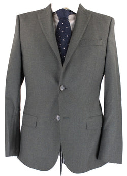 J. Lindeberg - Light Green Wool Flannel Blazer - PEURIST