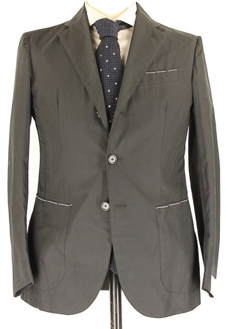 De Petrillo - Navy Lightweight Wool Blazer
