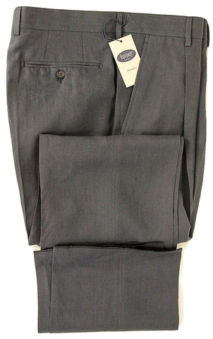 Equipage - Navy Linen Pants, Single Pleat - PEURIST