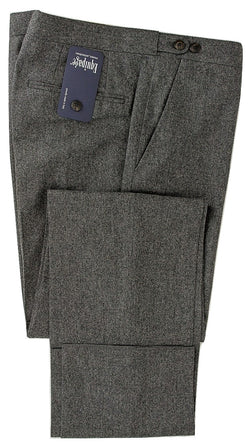 Equipage - Charcoal Wool Flannel Pants - PEURIST