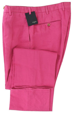 Incotex - Bright Pink Chinolino Pants - PEURIST