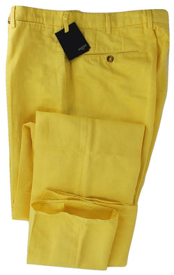 Incotex - Yellow Chinolino Pants - PEURIST