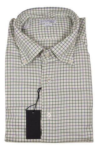 La Camiceria Italiana - Green/Blue Check Shirt [FS] - PEURIST