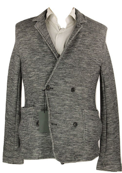 Wings & Horns - Gray Marl Wool Knit DB Blazer