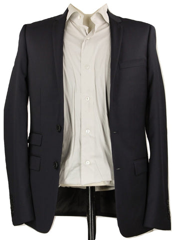 Sandro - Navy Lightweight Wool Blazer