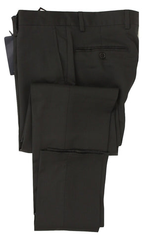 Royal Hem - Black Wool Pants - PEURIST