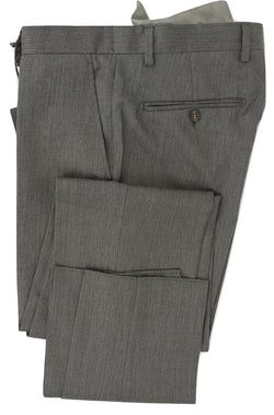 Royal Hem - Charcoal Wool Pants - PEURIST