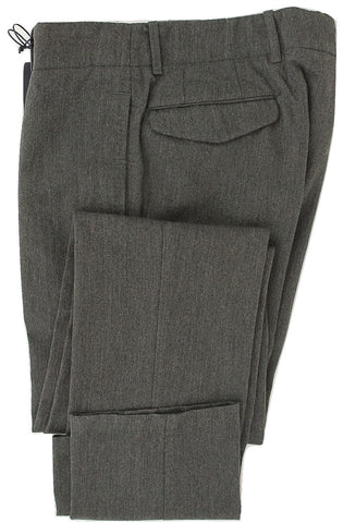Royal Hem - Dark Gray Wool Cargo Pants