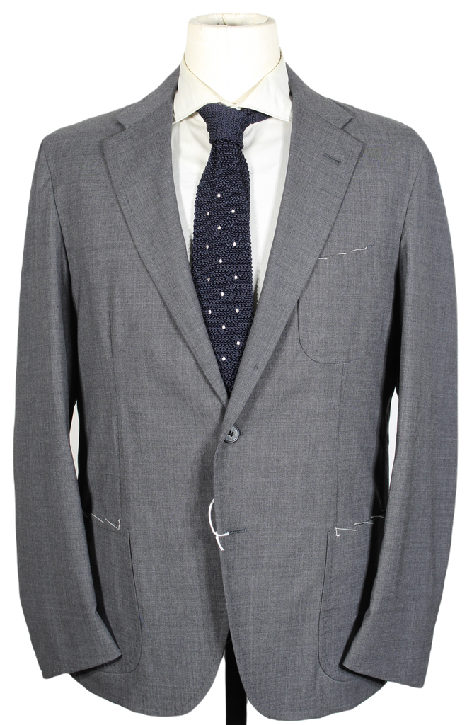 Salvatore Piccolo – Gray Lightweight Wool Blazer