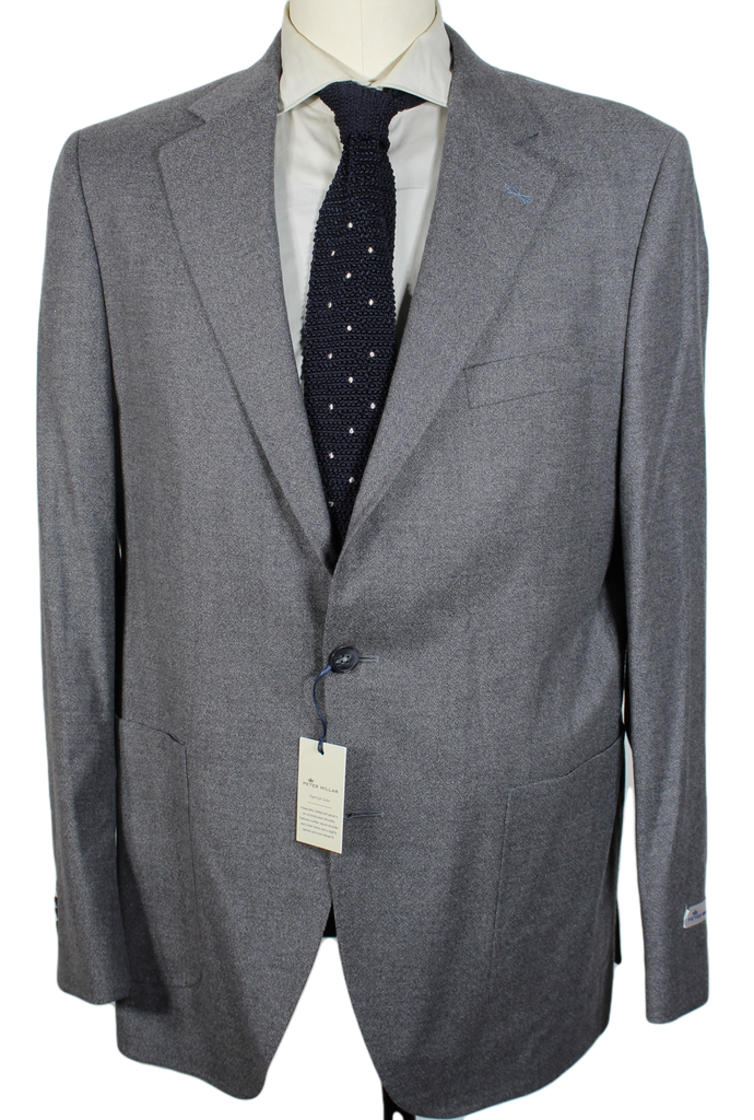 Peter Millar – Light Gray Wool Blazer