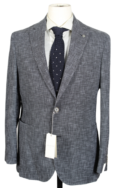 Jack Victor – Gray Lightweight Wool/Cotton Blazer