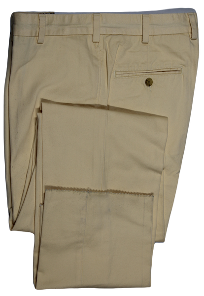 Bills Khakis – Light Yellow Stonewashed Chinos