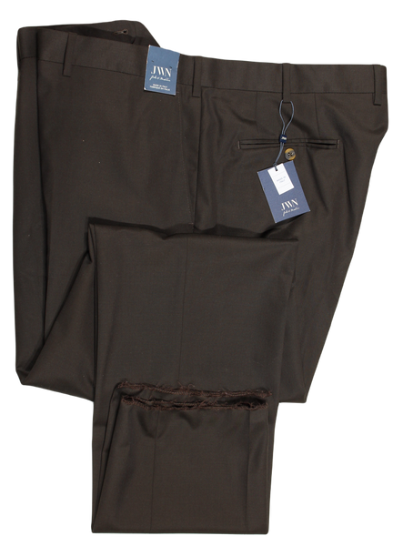 John W. Nordstrom – Dark Brown Four Season Wool Pants