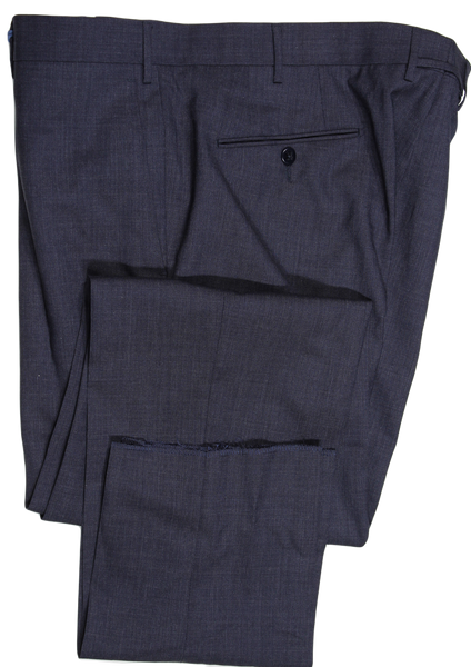 Zanella – Dark Navy/Gray Four Season Wool Pants