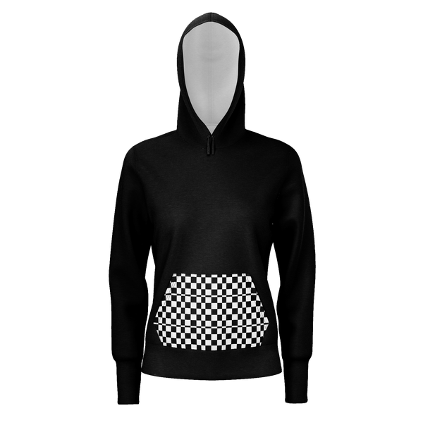 Checkered (black) Hoodie