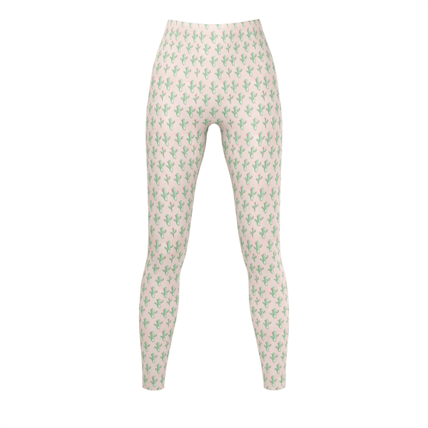 Peachy Cactus - Leggings