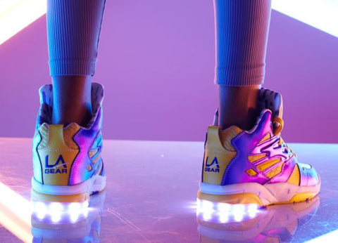 best value 1ab83 282c6 The History of LED Shoes: From Kiddos to Ravers Light Up ...
