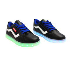 Low Top Sport (Black) - LED SHOE SOURCE,  Shoes - Fashion LED Shoes USB Charging light up Sneakers Adults Unisex Men women kids Casual Shoes High Quality