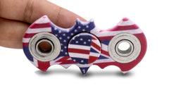 Patriotic Bat Fidget Spinner - LED SHOE SOURCE,  Spinner - Fashion LED Shoes USB Charging light up Sneakers Adults Unisex Men women kids Casual Shoes High Quality