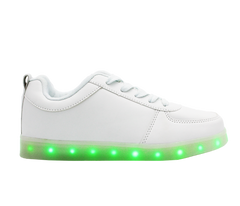 Low Top Kids LED Shine Shoes