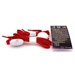 LED Light Up Shoelaces Red