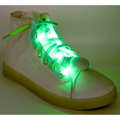 LED Light Up Shoelaces Green