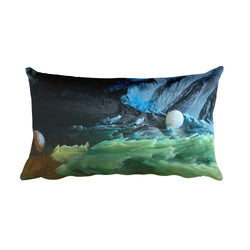 Colorful Ink Motion - Pillow
