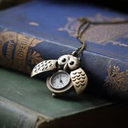 Owl Watch Necklace