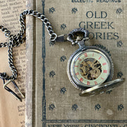 Time Lord Mechanical Pocket Watch - Pocket Chain or Necklace