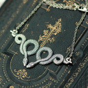 Twisted Serpents Necklace