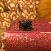 Green Marble Ring