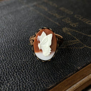 Butterfly Cameo Ring