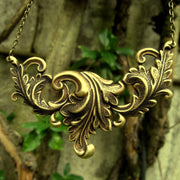 Leafy Art Nouveau Necklace