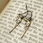 Brass Gun Earrings