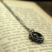 Vintage Typewriter Key Necklace- 6