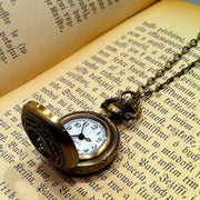 Brass Pocket Watch Necklace number 3