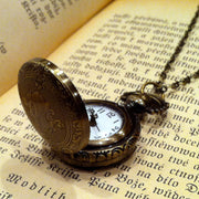 Brass Pocket Watch Necklace number 6