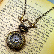Brass Pocket Watch Necklace number 9