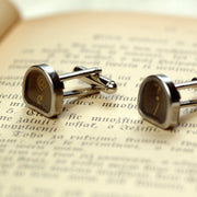 Typewriter Key Cufflinks- Pick your letters/symbols