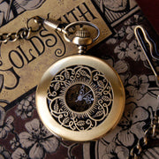 Brass Mechanical Pocket Watch Necklace 5