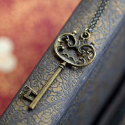 Bronze Key Necklace 6
