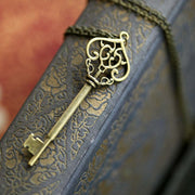 Bronze Key Necklace 7