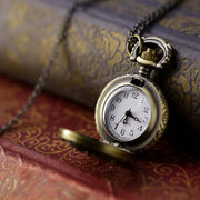 Brass Pocket Watch Necklace