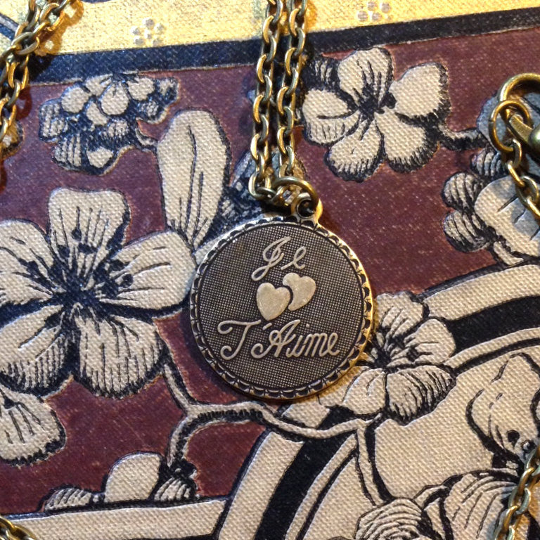 Je T'Aime Charm Necklace
