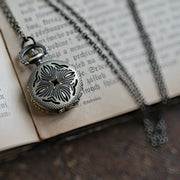 Brass Pocket Watch Necklace number 15