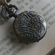 Brass Pocket Watch Necklace number 16