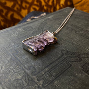 Amethyst Crystal Necklace